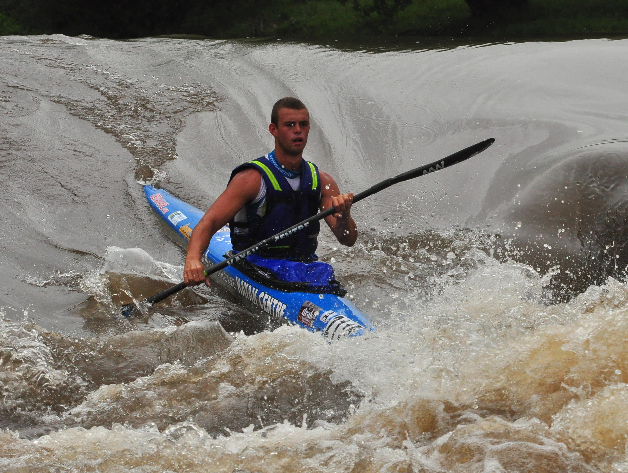 Grant van der Walt set a new day two record en route to his third