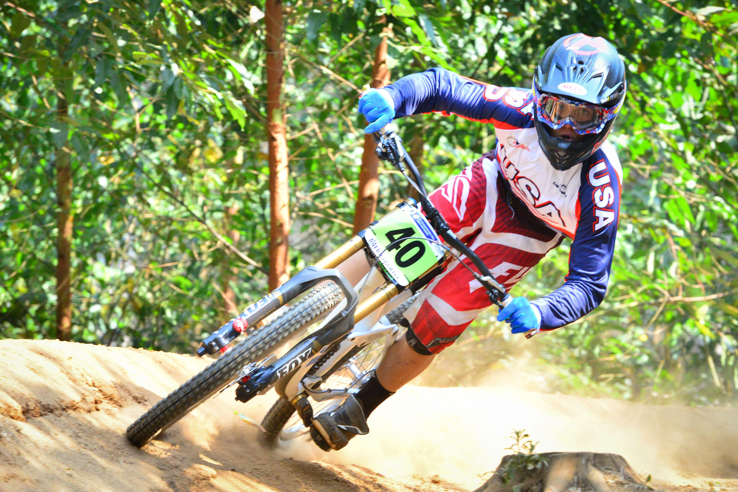 at Cascades MTB Park in Pietermaritzburg, South Africa - photo by meagerdude - Pinkbike